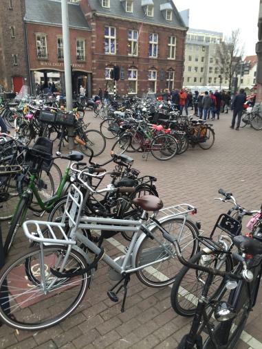 more bikes than cars
